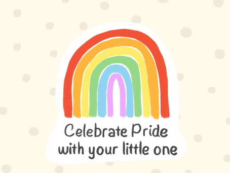5 ways you can celebrate pride with your little one