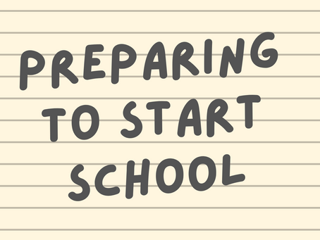 A guide for school readiness