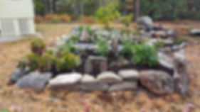 boothbay maine lawncare patios stone excavation