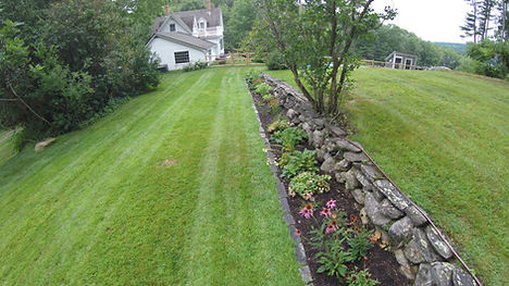 midcoast maine lawncare mowing weed sod mulch
