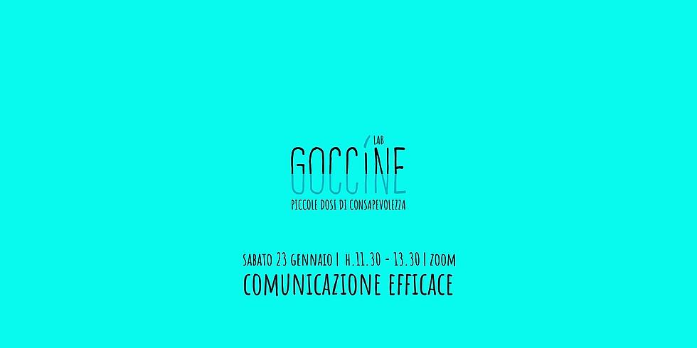 Goccine Lab   Comunicazione efficace