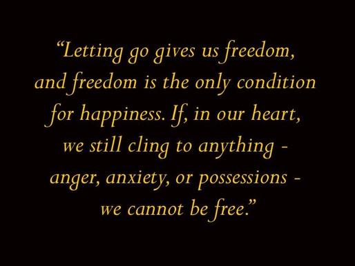 That Time I Let Go...