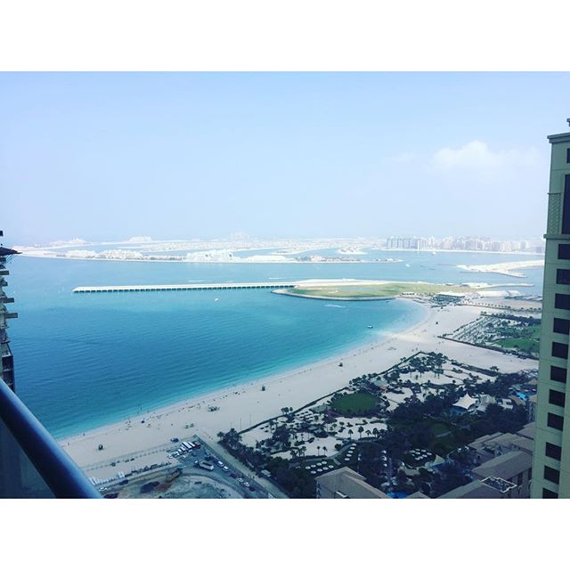 Good morning, Dubai ❤️ #myview #grateful #happySunday #lastdayhere #enjoyingeverylastbit