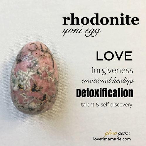 Rhodonite Yoni Egg