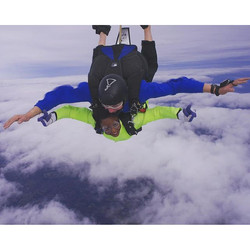 There's something that happens when you willingly jump out of a plane and land safely to tell the st
