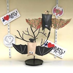 Hanging Bat Party Favor