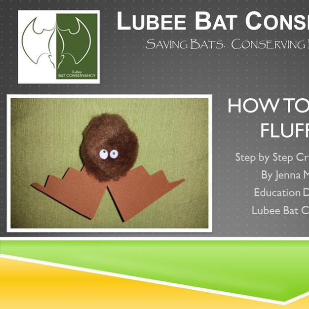 How to Make a Fluff Bat
