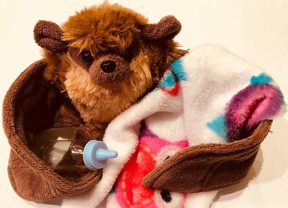 Orphaned Baby Bat Plush