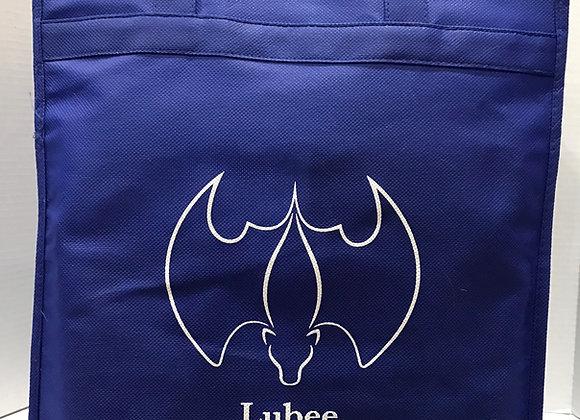 Lubee Logo Large Reusable Shopping Bag