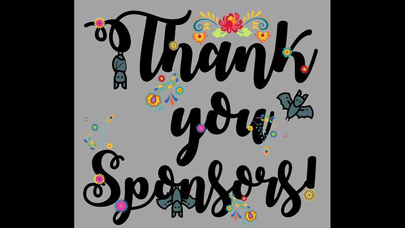 2020 Bat Fest Sponsor Thank You!