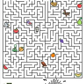 Fruit Bat Maze