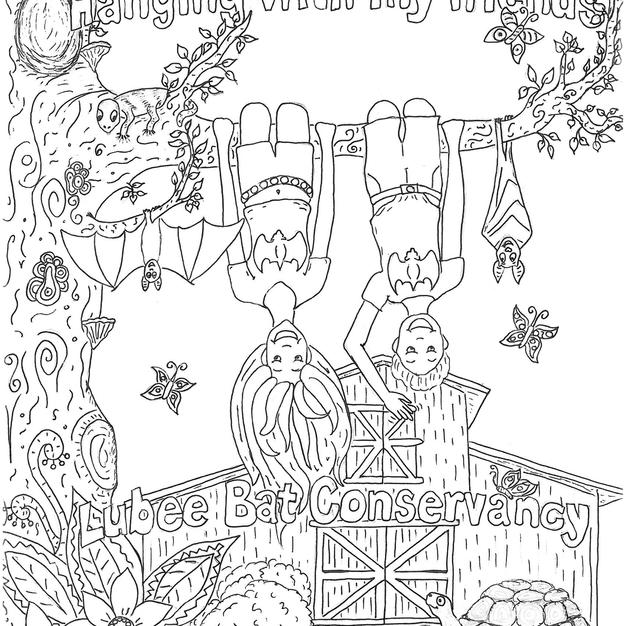 Lubee Bat Conservancy Coloring Pages