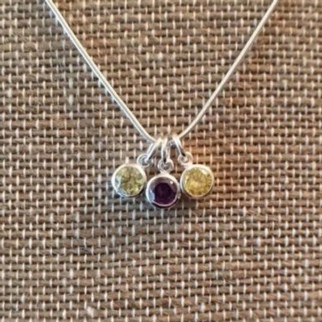 3-Birthstone Mother's Necklace - $36 and up
