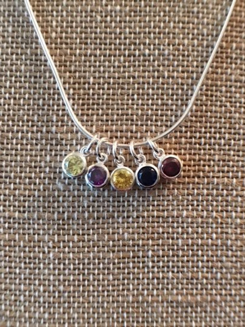 5-Birthstone Mother's Necklace - $52 and up