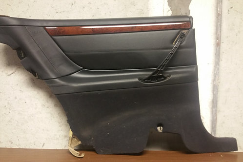 Rear Left Side Panel in LEATHER ANTHRACITE