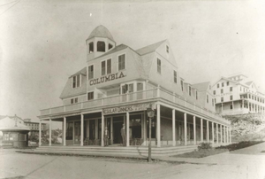 Original Olympia Tea Room building  (Photo submitted by Felber family)