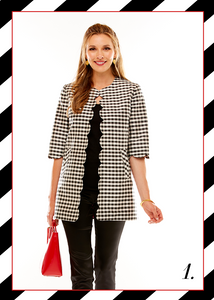 Sara Campbell made in usa america sale gingham holiday outfit ideas styling tips