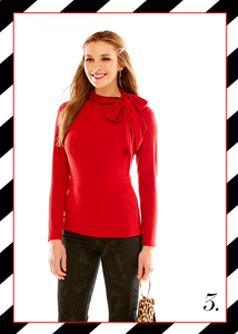 Sara Campbell made in usa america sale red holiday outfit ideas styling tips