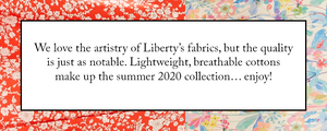 We Love Liberty London Print Fabric Special Made In USA Sara Campbell