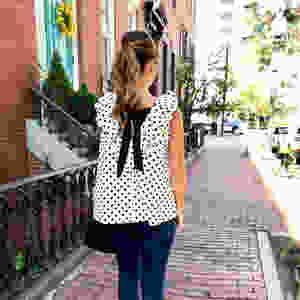 Sara Campbell top Made in the USA Boston base fashion apparel designer