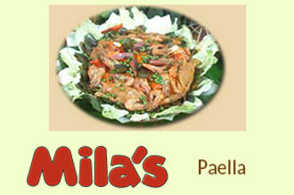 Mila's Paella in La Loma Quezon City - Mila's Lechon and Restaurant