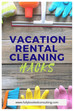 Clean your rental faster with these 5 hacks (VRBO & Airbnb cleaning tips)