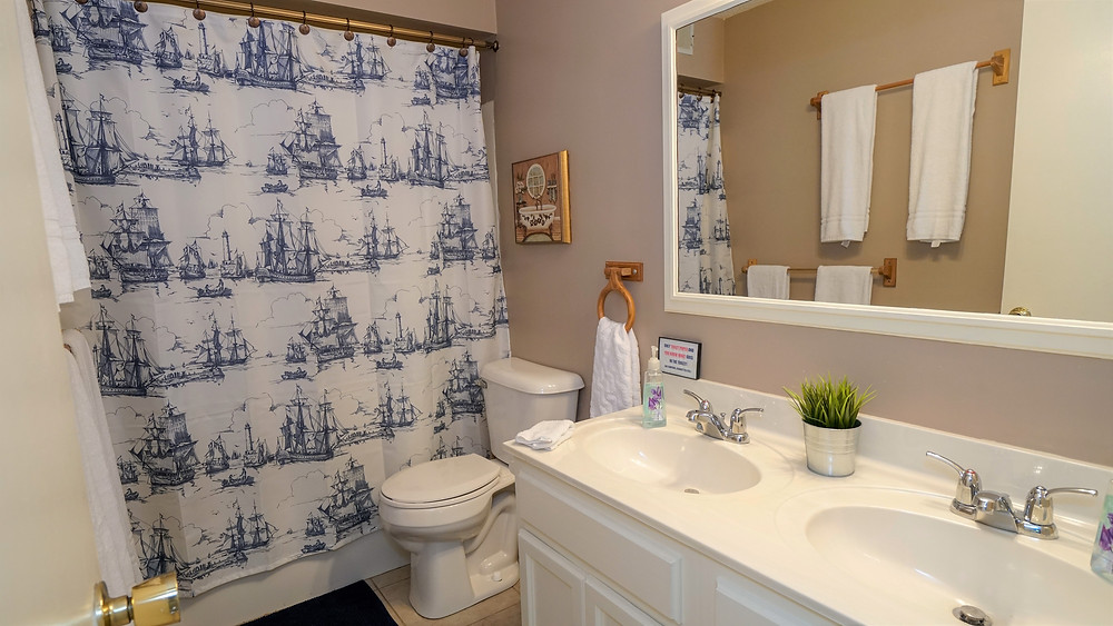 vacation rental bathroom