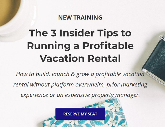 Celebrating 1K Subscribers + Vacation Rental Consulting Options