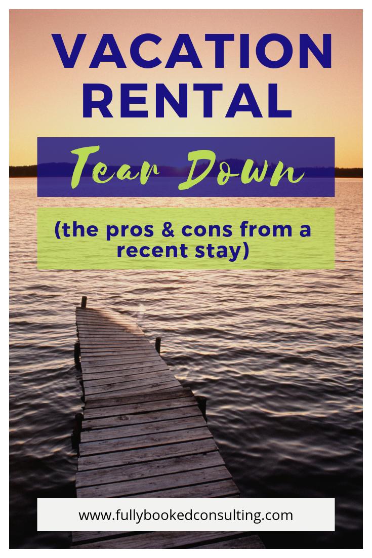Vacation Rental Amenities Checklist
