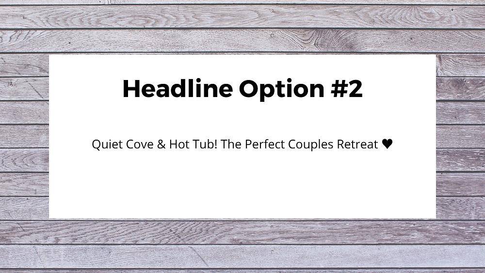 airbnb headline optimization training