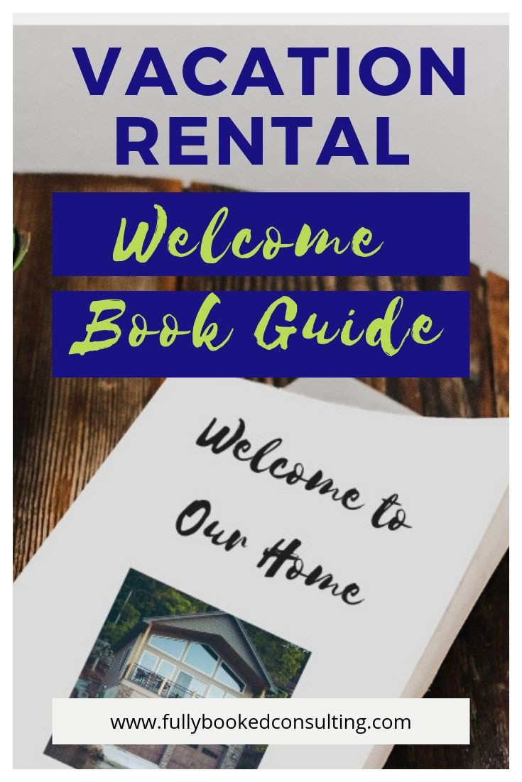 vacation rental welcome book guide