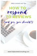 Airbnb and Vrbo Public Reviews: 4 Tips on Responding