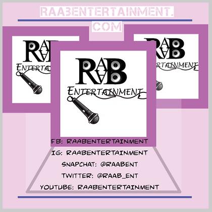 """RAAB Stickers 3"""" x 3"""""""