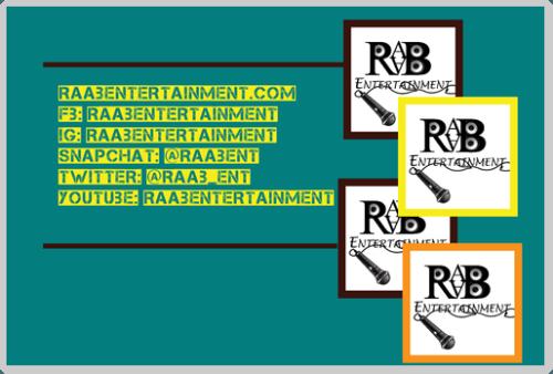 """RAAB Stickers 2"""" x 3"""""""