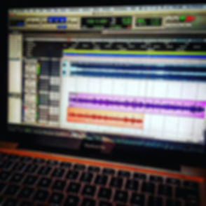 Late night studio vibes 😎🎼🎤🎼 Greatne