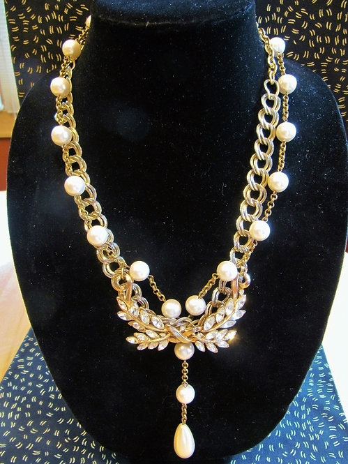 Pearlie Wings Necklace