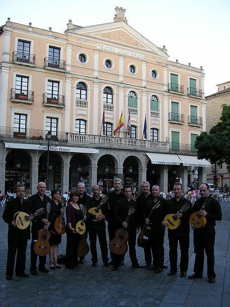 orquesta Cuerda Para Rato en Juan Bravo, Segovia