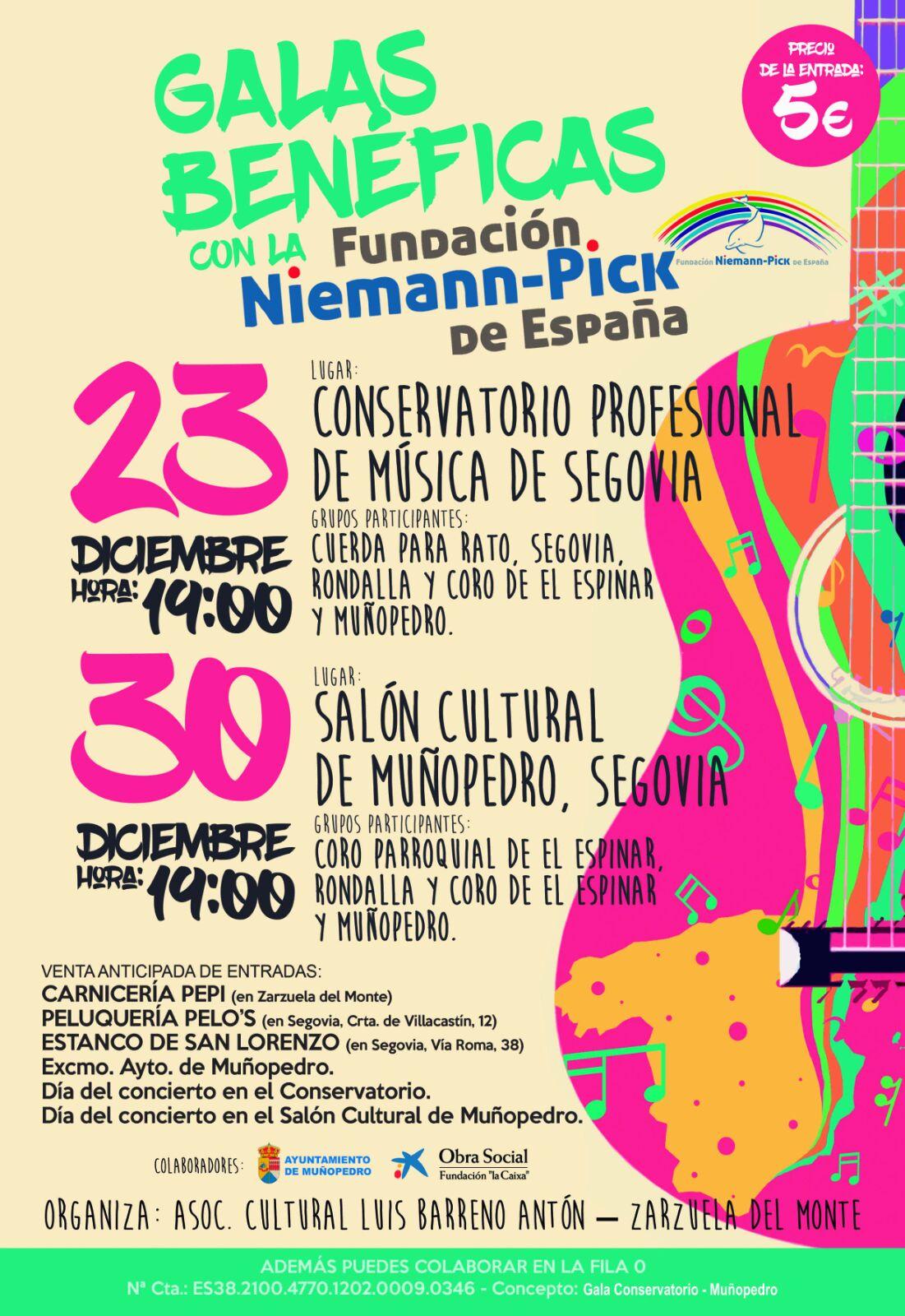 Galas benéficas Niemann-Pick
