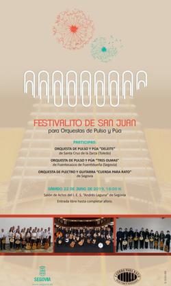 I Festivalito de San Juan, 2019