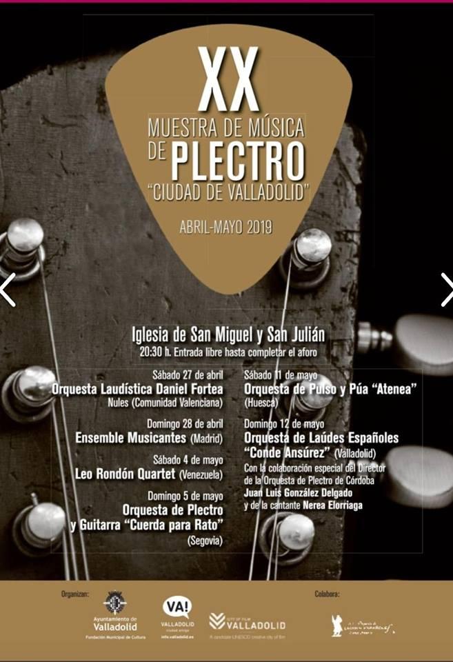 Muestra música plectro Valladolid