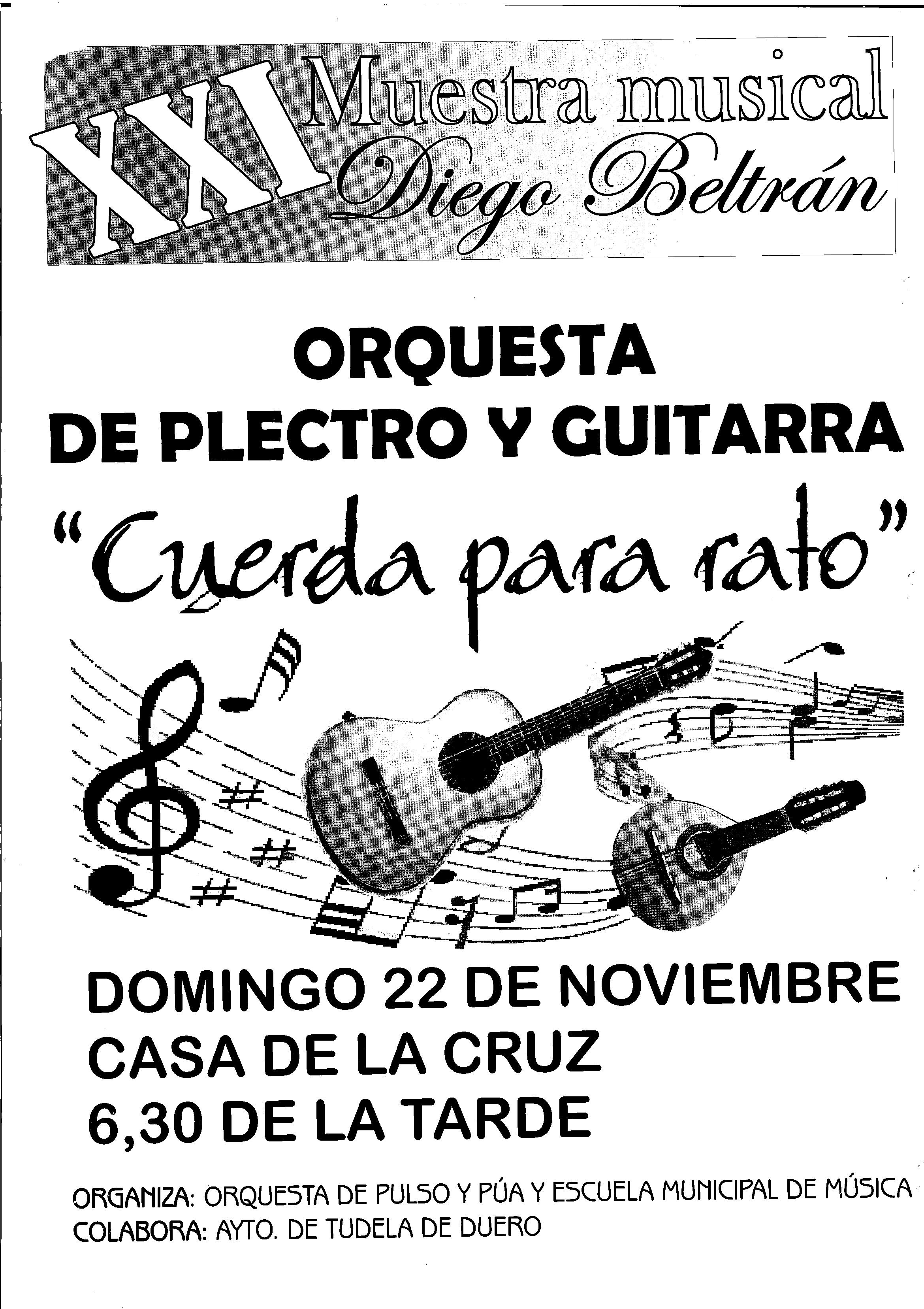 XXI Muestra Musical Diego Beltrán
