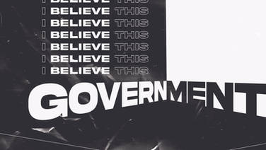 I believe this government cannot endure-