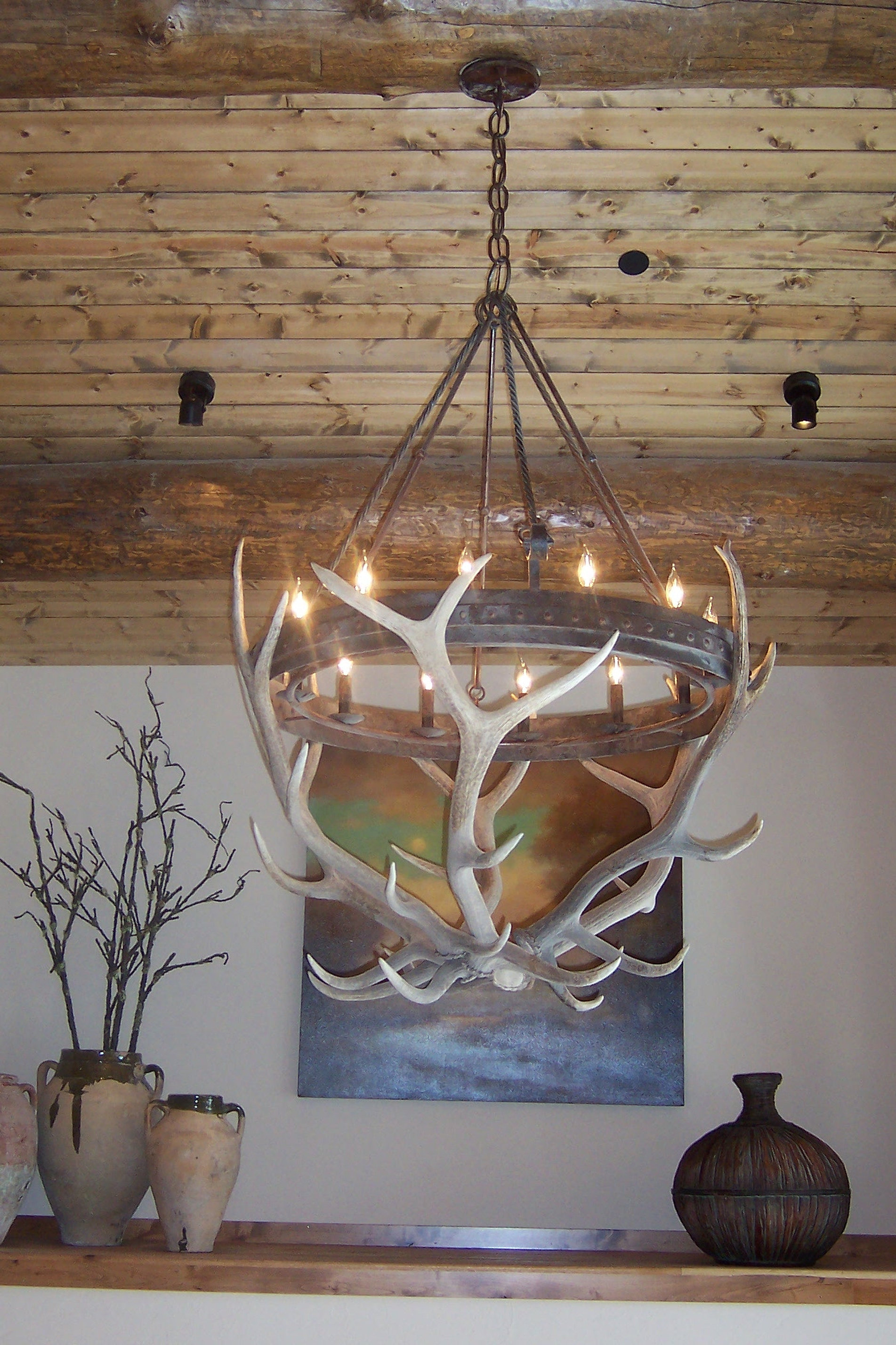 Custom Hand Forged Chandelier