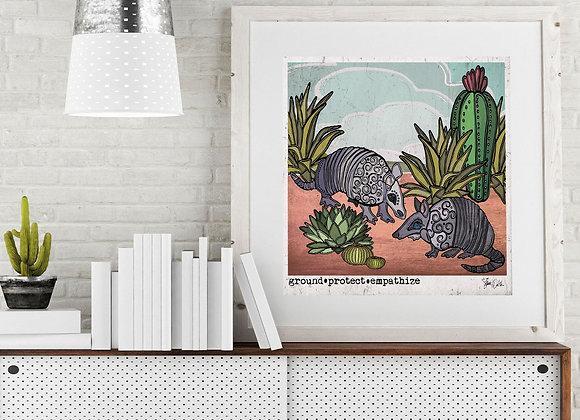 Amarillo & Cactus