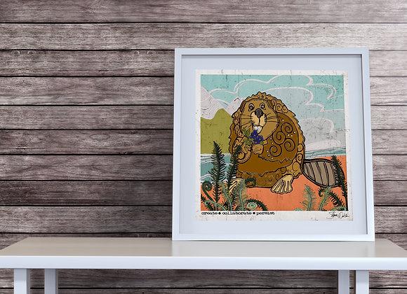Beaver Print