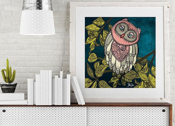 Owl 2 Print