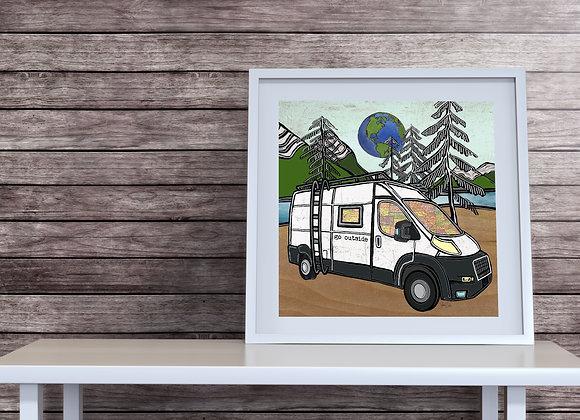 Dodge Promaster Camper van Overlander