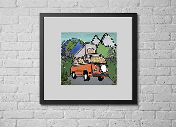 Volkswagen Camper Van Overlander