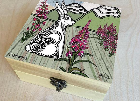 Fireweed & Rabbit Wood Box