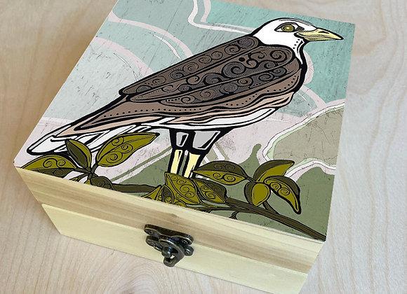 Go West Eagle Wood Box